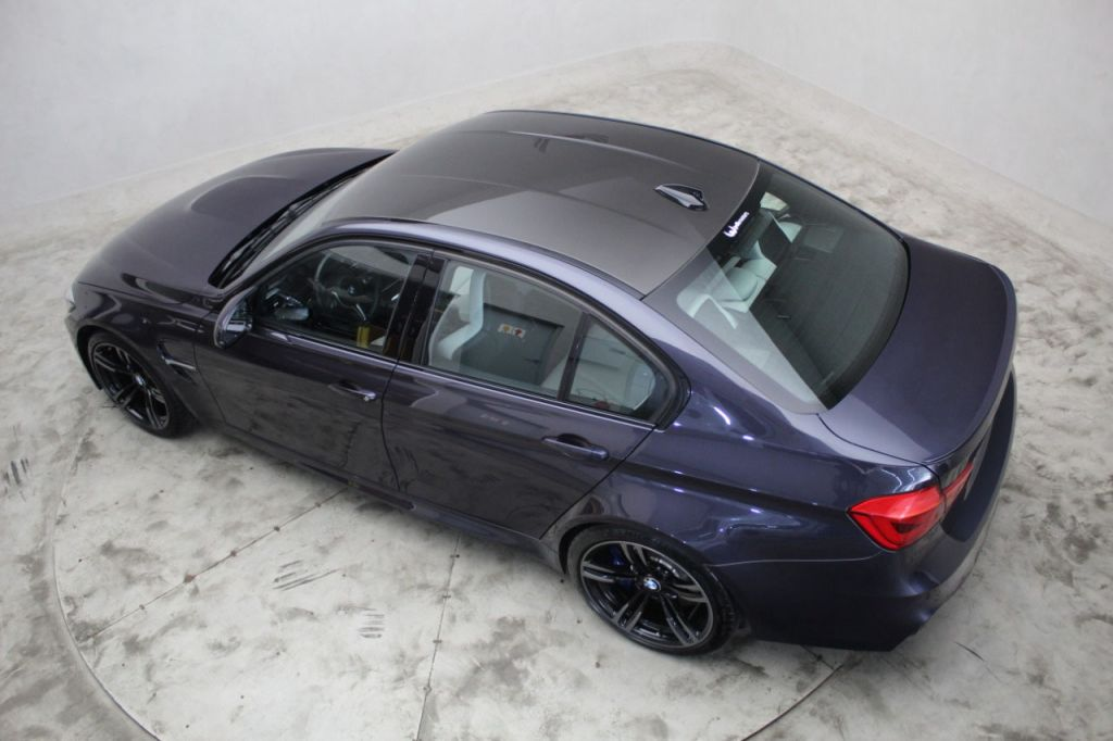 Bmw M3 Sedan Macau Blue Metalico Com Interior Silverstone